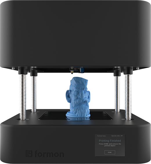 1 Formon Core desktop 3D printer front - 1-compress